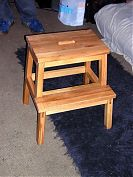 Built a stepstool