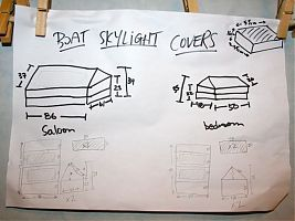 Skylight cover plans