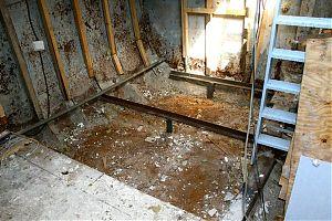 Sewing room cargo floor