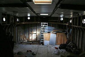 Cleared hull