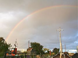 Moorings rainbow