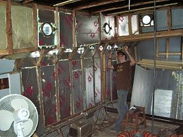 James sealing insulation