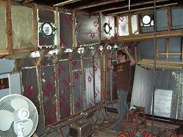 James sealing insulation