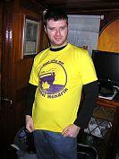 James in his Kanotel Hendrik shirt