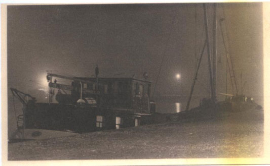 Foggy night on Tijdgeest